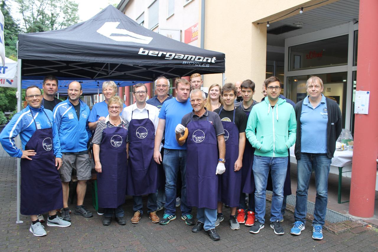 Fleischwurstfest-Team 2017